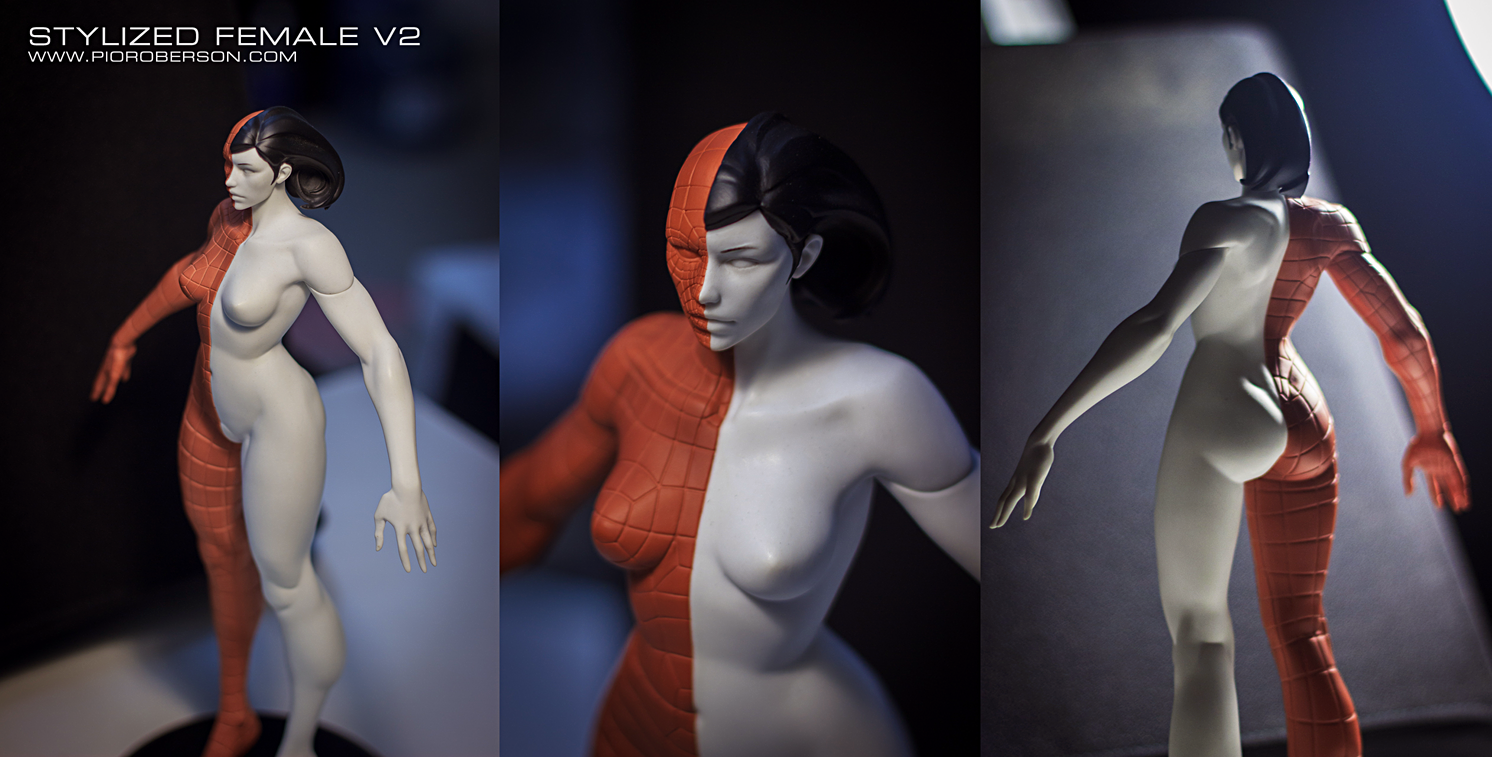 Pior Oberson Character Artist Stylized Anatomy