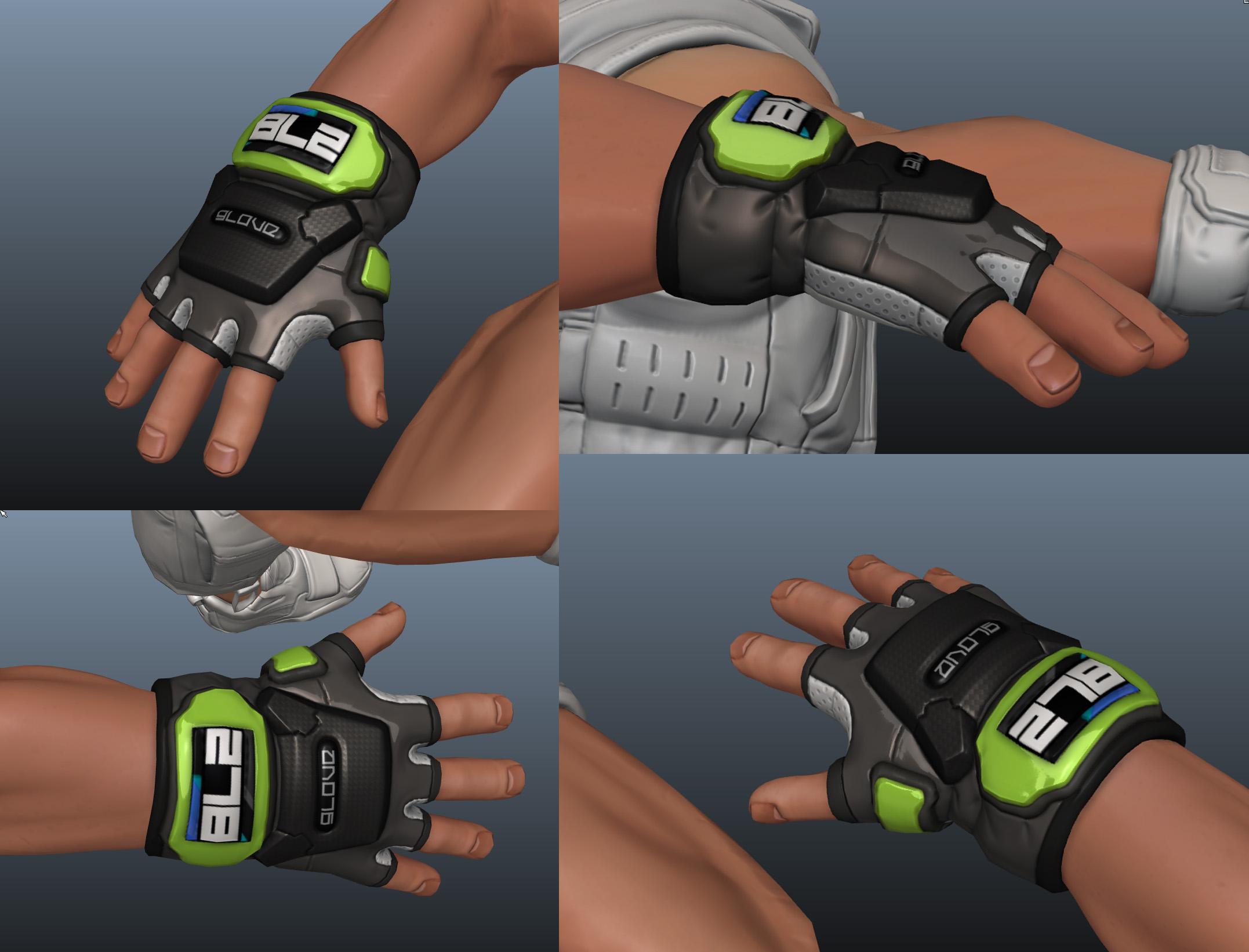 glove details